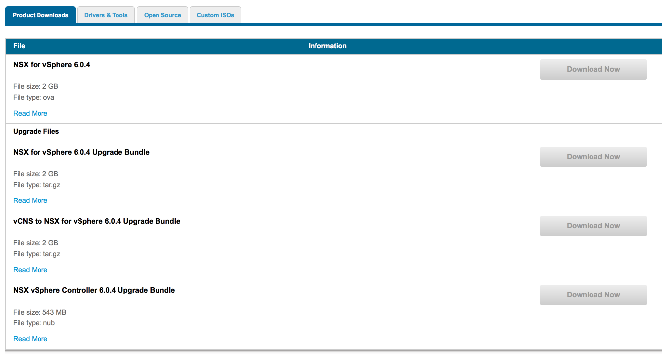NSX for vSphere 6 0 4 - Documentation and Download? · vNinja net