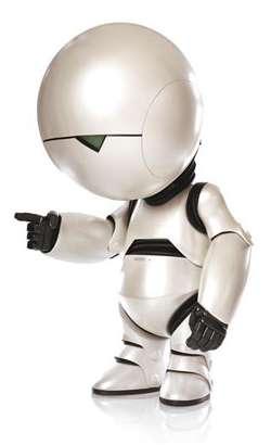 Marvin the Paranoid Android (HHGG)