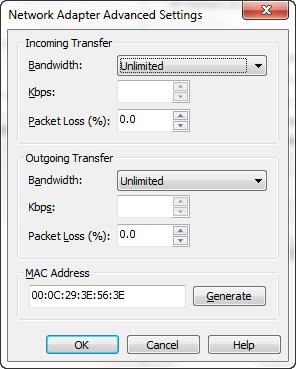 Network Simulation in VMware Workstation 8 · vNinja net