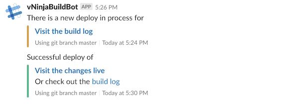 Slack Incoming Webhook