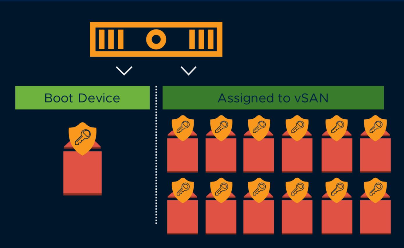 VMC on AWS - Storage Nodes